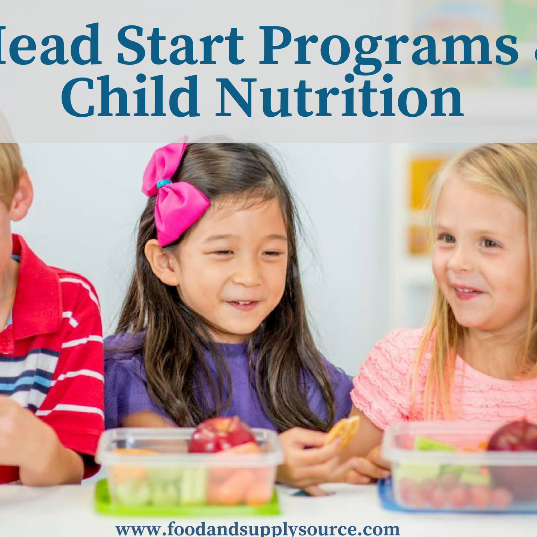 The Importance Child Nutrition Plays In Head Start Programs Food Supply Source