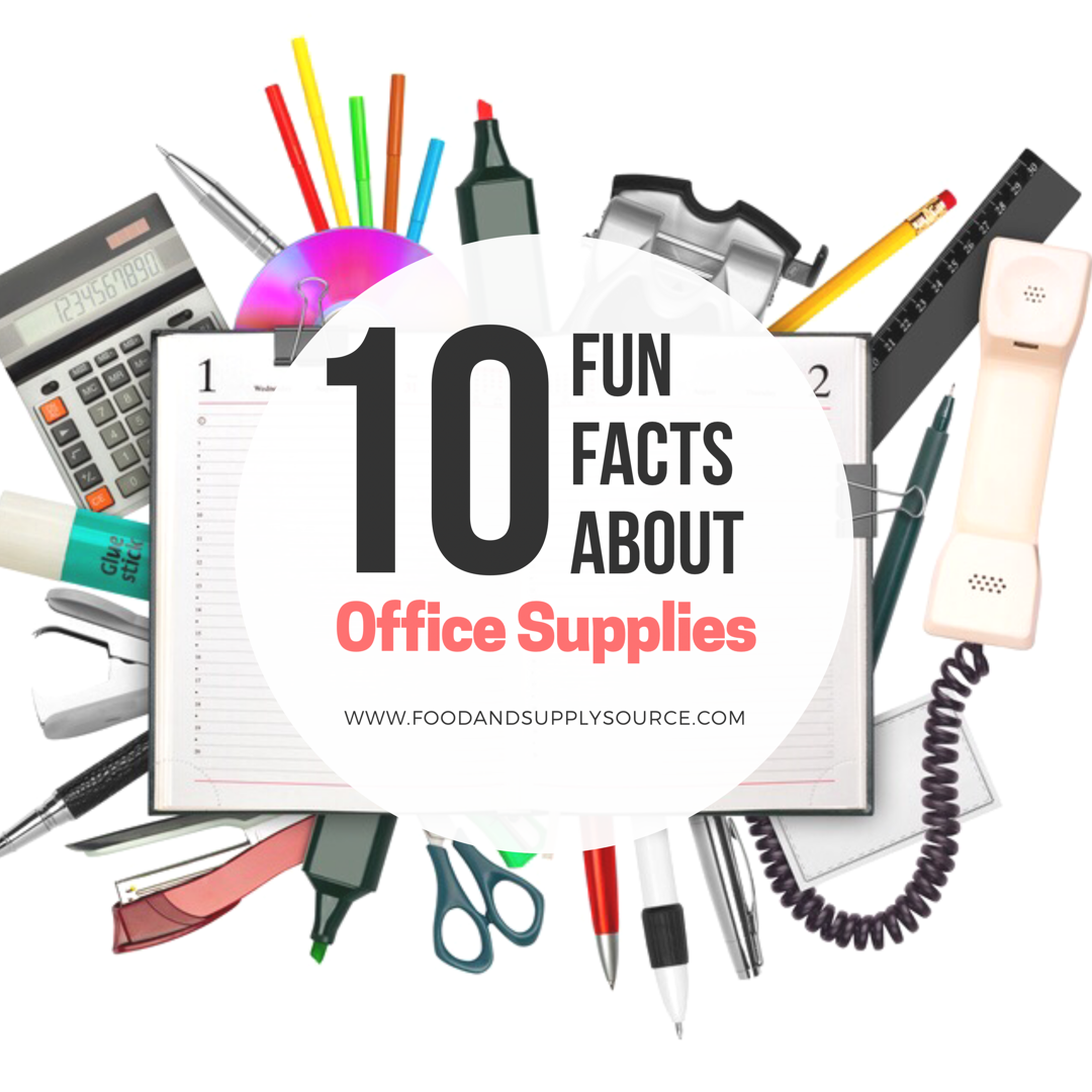 10 Fun Facts About Office Supplies