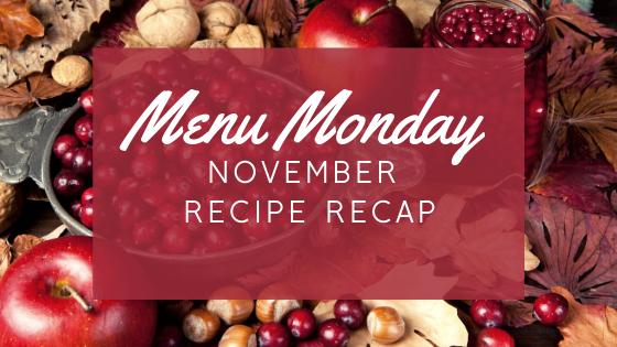 November Recipe Recap