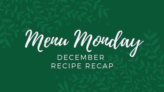 December Recipe Recap