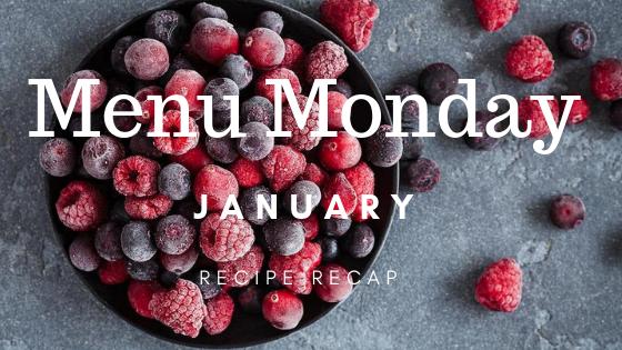 January Recipe Recap