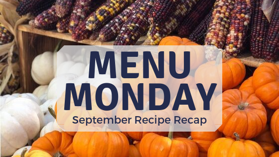 September Recipe Recap