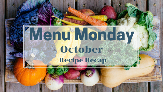 October Recipe Recap